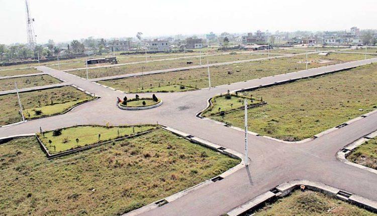 Land plots prepared for sale